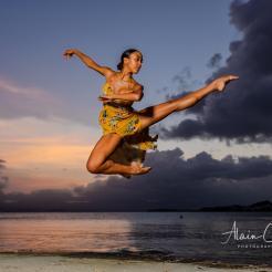 photo alain cassang - guadeloupe - danse & sport 6