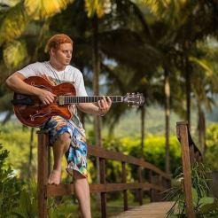 Nicolas Attie Guitariste - photo alain cassang - guadeloupe - guitare