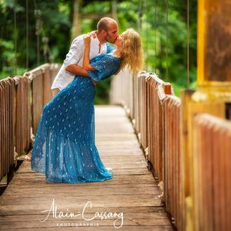 photo alain cassang guadeloupe - mariage - couple 2