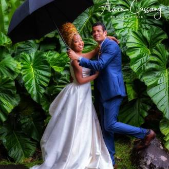 photo alain cassang guadeloupe - mariage - couple 5