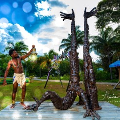 photo alain cassang - guadeloupe - performance art 4