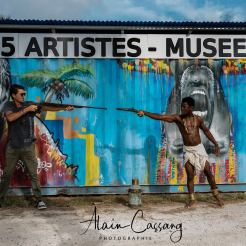 photo alain cassang - guadeloupe - performance art 5
